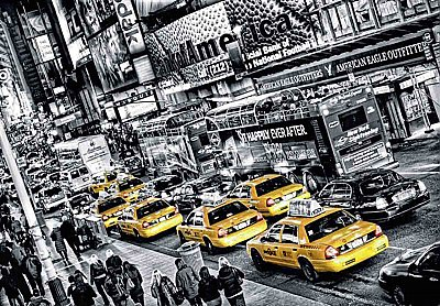 Cabs Queue Wall Mural DM116
