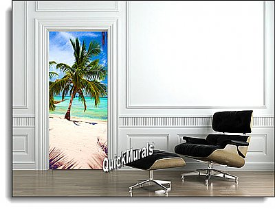 Tropic Paradise Peel & Stick Canvas Wall Mural