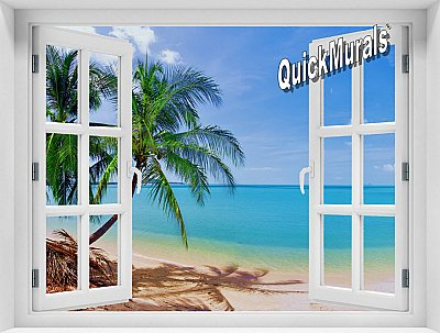 Coconut Beach Window #1