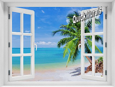 Coconut Beach Window #2