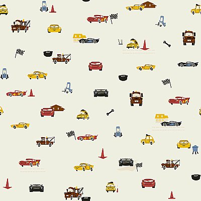 Disney and Pixar Cars Racing Spot Wallpaper