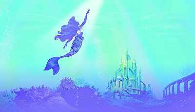 Disney The Little Mermaid Under The Sea Peel And Stick Mural