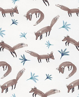 Hilma Brown Fox Wallpaper