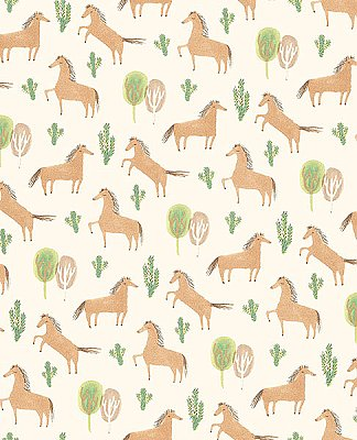 Tuva Brown Horse Wallpaper