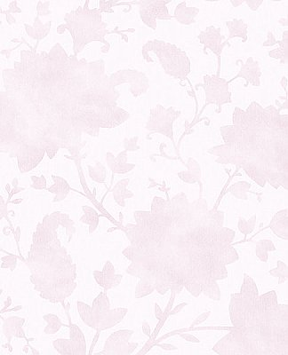 Avens Light Pink Floral Wallpaper