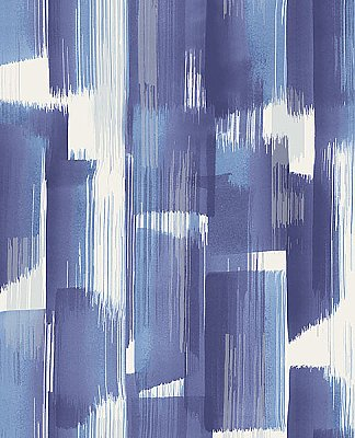 Vilgot Indigo Abstract Wallpaper