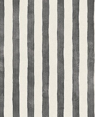 Ronja Charcoal Stripe Wallpaper