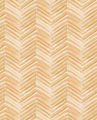 Tilde Wheat Chevron Wallpaper