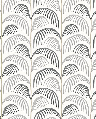 Altruria Grey Tree Wallpaper