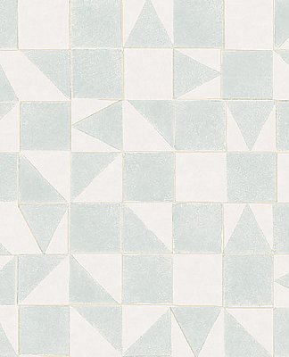 Robyn Grey Geometric Wallpaper