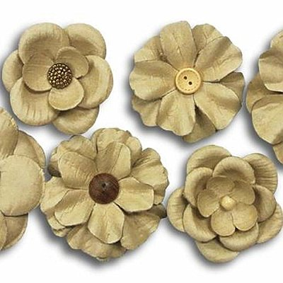 CRAFT FLOWER EMBELLISHMENTS