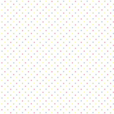 Lilli Pink Happy Dots Wallpaper