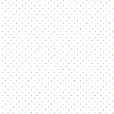 Lilli Lavender Happy Dots Wallpaper