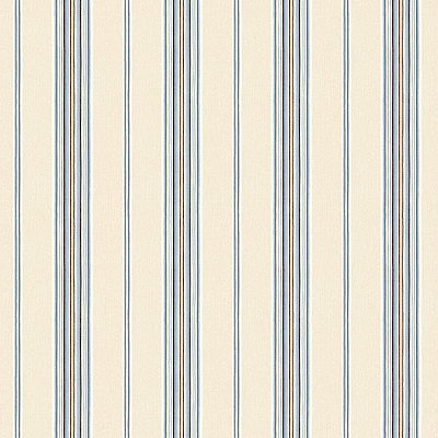 Kylie Denim Cabin Stripe Wallpaper