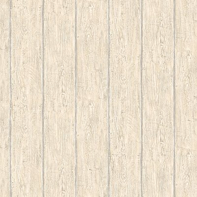 Rodeo Beige Outhouse Wood Wall Wallpaper Wallpaper