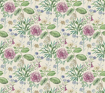 Midsummer Floral Wallpaper