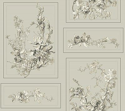 Magnolia Home The Magnolia Removable Wallpaper