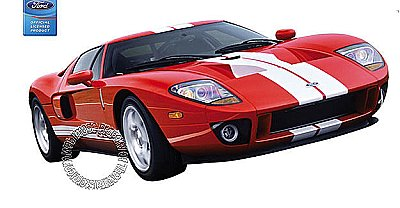 2005 Ford GT - Red Mural 122078
