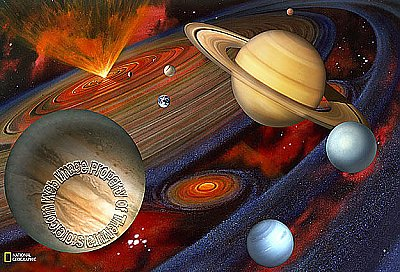Great Universe Mural NG94613