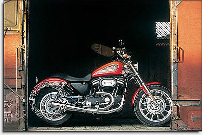 Harley RR bike Mural Hot Deal