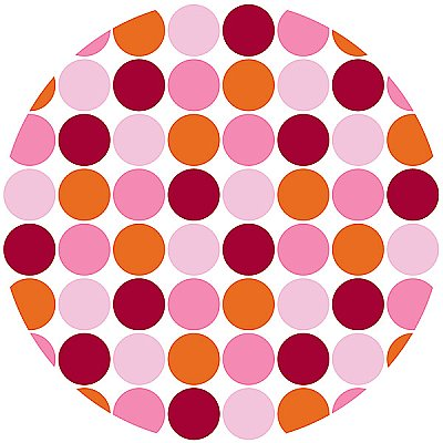 LOTS OF DOTS (PINK) DOT WPD90236