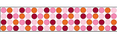 LOTS OF DOTS (PINK) STRIPE WPS90238