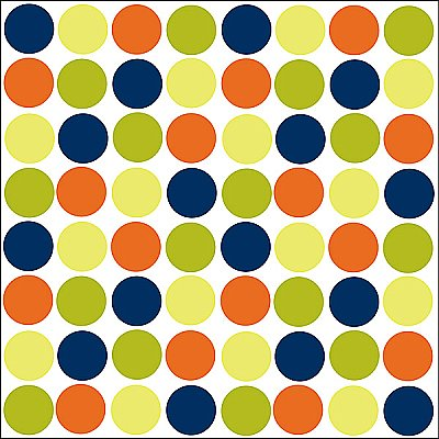LOTS OF DOTS (BLUE) BLOX WPB90240