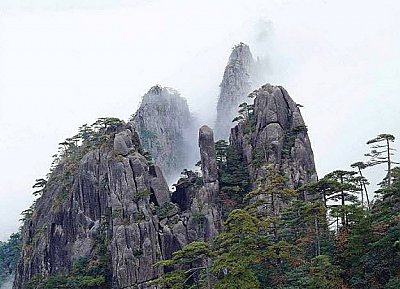 Foggy Mountain China