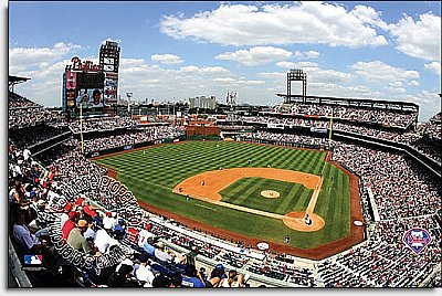 Philadelphia Phillys/Citizens Bank Park Mural MSMLB-PP-CDS12006S