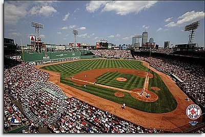 Boston Red Sox/Fenway Park Mural MSMLB-BRS-CDS12006S
