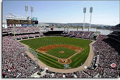 Cincinnati Reds/Great American Ballpark Mural MSMLB-CR-CDS12005S