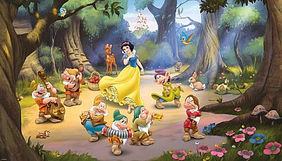 Disney Snow White and the Seven Dwarfs Mural