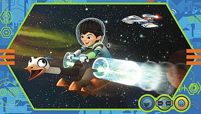 MILES FROM TOMORROWLAND MURAL