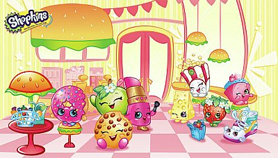 SHOPKINS XL MURAL