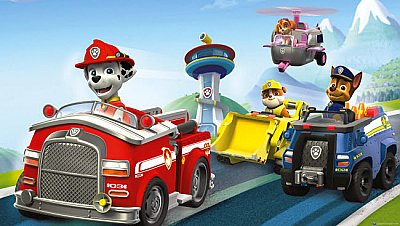 PAW PATROL FRIENDS XL MURAL