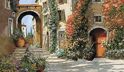 Tuscan Breezeway Wall Mural MP4870M