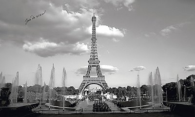 Eiffel Tower Wall Mural MP4950M