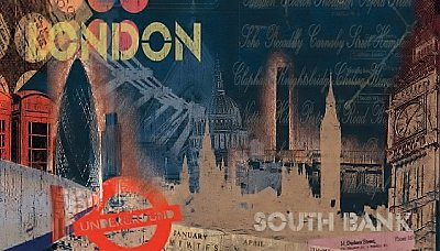 London Wall Mural MP4999M by York