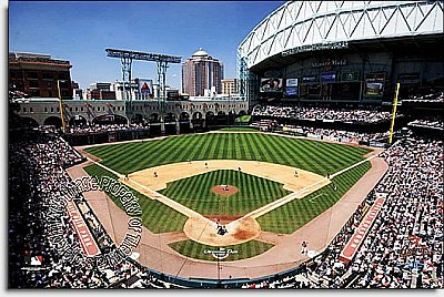 Houston Astros/Minute Maid Ballpark Mural MSMLB-HA-CDS12006S
