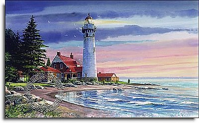 Northern Lighthouse Mural RA0193M