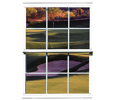Sand Trap Window Mural UMB91125