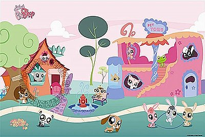 Littlest Pet Shop Mural JL1185M by York Roommates