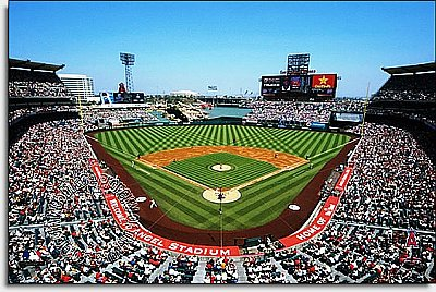 LA Angels of Anahiem/Angel Stadium Mural MSMLB-LAA-CDS12005S
