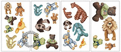 Cuddle Buddies Peel & Stick Applique