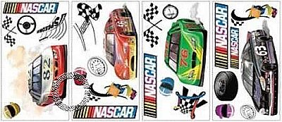 Nascar Peel & Stick Applique RMK1047SCS