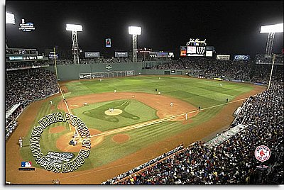 Boston Red Sox/Fenway Park Mural MSMLB-BRS-CNS12004S