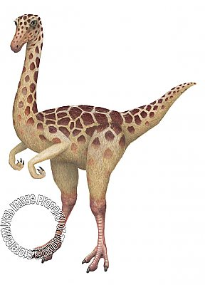 Gallimimus Peel & Stick Applique 70802