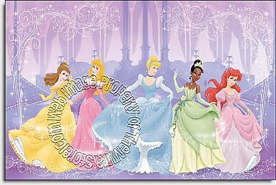 Disney Perfect Princess Wall Mural by Roommates