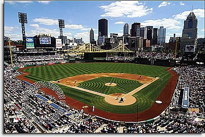 Pittsburgh Pirates/PNC Park Mural MSMLB-PIP-CDS12005S