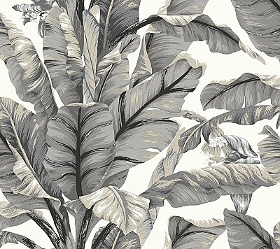 Banana Leaf Peel and Stick Wallpaper